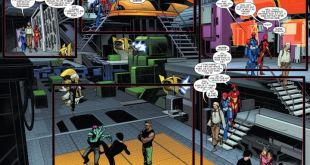 The new SHIELD in action. Art by Stefano Caselli. (Marvel Comics)