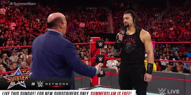 Heyman Hustle is pulling out all the stops to try and win over Roman Reigns on W...