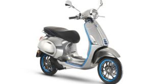 Piaggio's timeless Vespa gains connectivity as it goes electric
