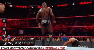 Pure CHAOS in the ring on WWE Raw!