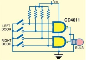 Working of CD4011 IC  Gadgetronicx
