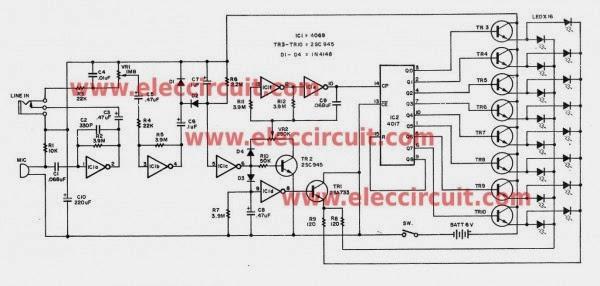 six simple led lighting circuit for christmas  gadgetronicx
