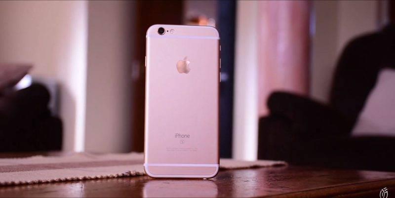 iPhone 6S - design