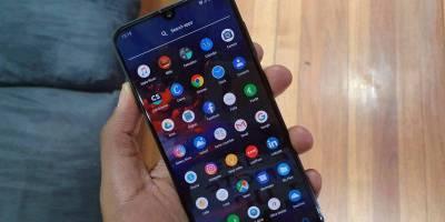 Samsung Galaxy A30 UI