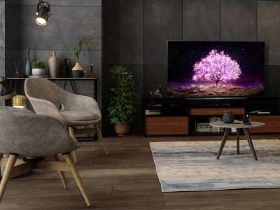 LG OLED TV, C1 Ambient