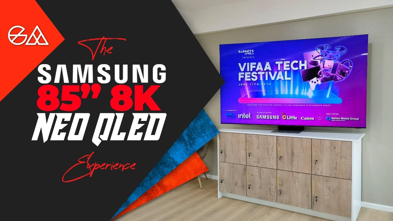 First Look At The 85-Inch 8K Neo QLED Samsung TV!