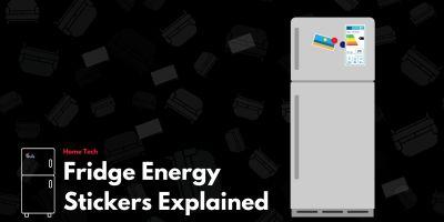 Fridge Energy Stickers Explained