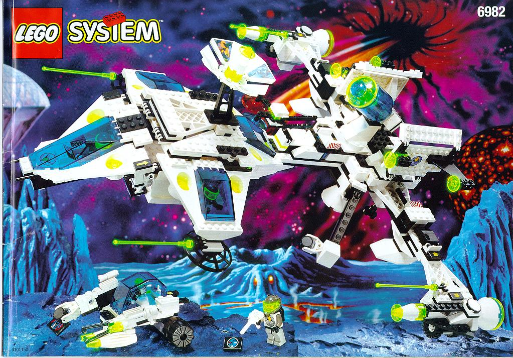 Space LEGOs Of The 80s