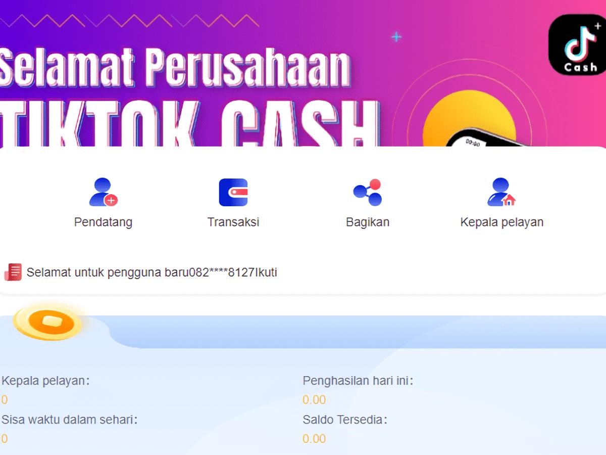 Blokir Tiktok Cash, Kominfo Singgung Vtube