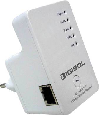 Digisol 300 Mbps Wireless Repeater Review and Specifications