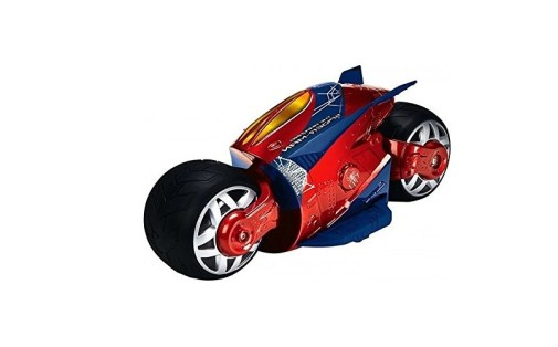 The Flyers Bay Cyber Bike with Super Speed and Drift Function Spiderman Edition