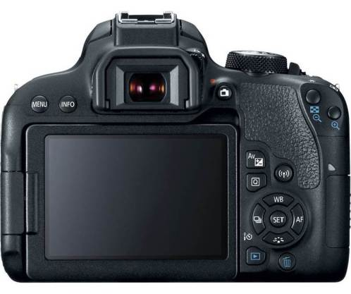Canon EOS 800D DSLR Camera Rear View