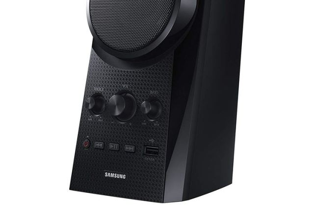 Samsung HW K20 Speaker Bass and Treble Control