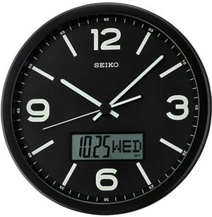 Seiko Wall clock with date QXL010KN