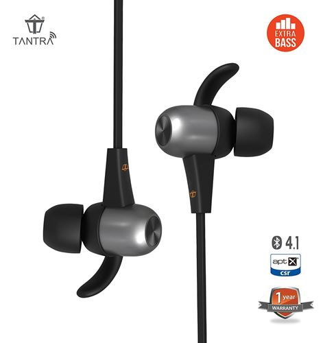 Tantra Power Boat Wireless Bluetooth Headset with MIC in India