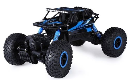 higadget Waterproof Toy Remote Controlled Rock Crawler RC Monster Truck