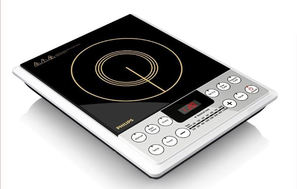 2100-Watt Philips HD4929 Induction Cooktop