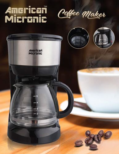 American Micronic Coffee Maker with Reusable Filter