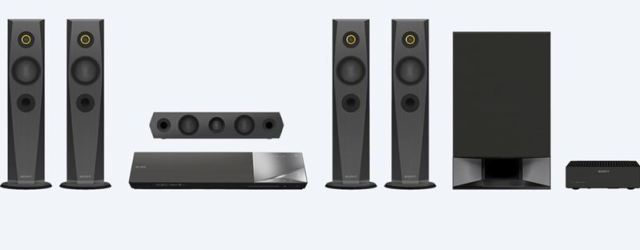 Sony N7200W Home Theatre System with Blu-Ray Player