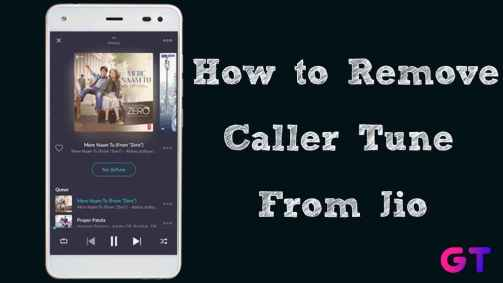 How to Remove Caller Tune from Jio Using SMS, MyJio App, IVR