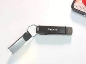 SanDisk Launches New Pen Drive (SanDisk iXpand Flash Drive Luxe), Support iPhone and Android
