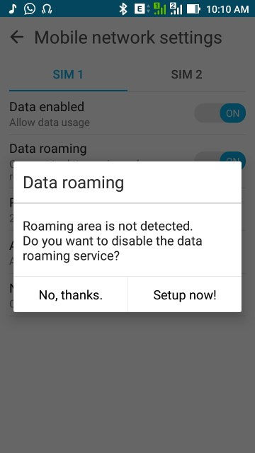 Software issues with ZenFone Max