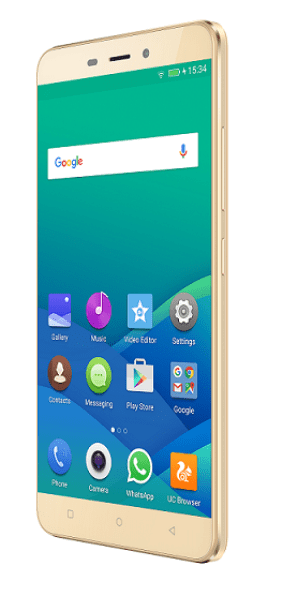Gionee P7 Max Gold_2