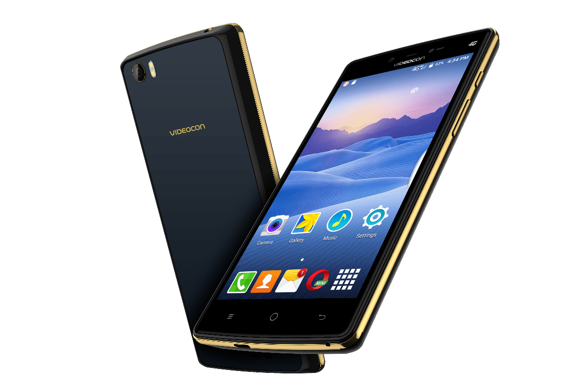 Videocon Ultra30 4G Smartphone With 4000mAh Battery Launched