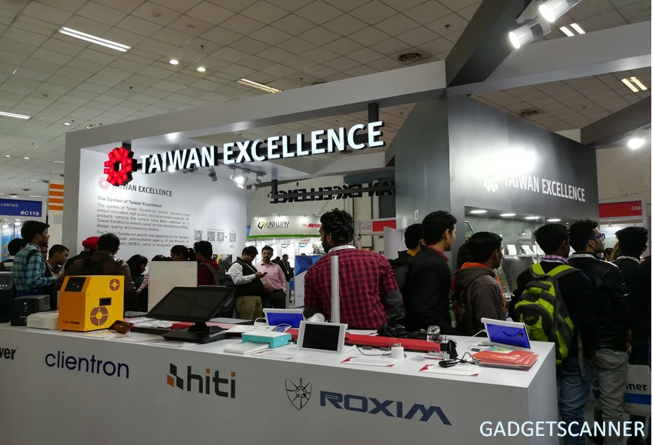 Taiwan Excellence at Convergence India 2017 Showcases Award Winning Products