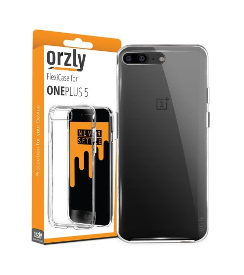 Orzly Flexi Case for OnePlus 5