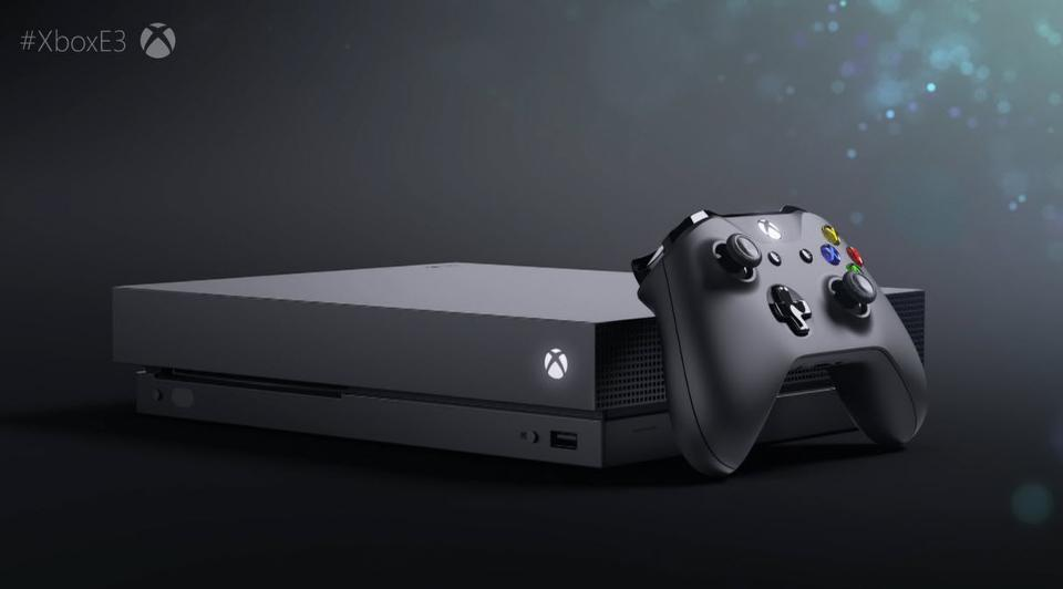 Microsoft Launches Xbox One X : The World's Most Powerful Gaming Console