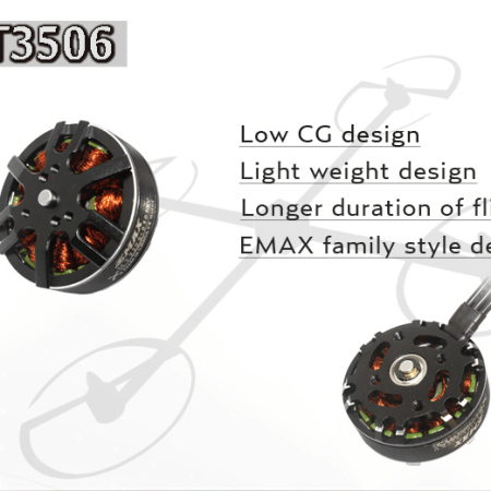 EMAX MT3506 KV650 Brushless Mutil-Axis Motor For RC Models in India