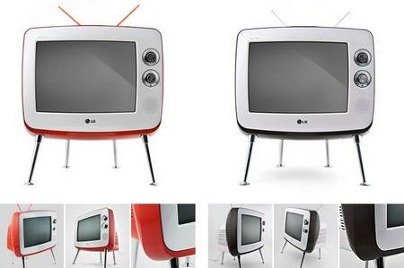 Sweet and retro Classic TV by LG Gadgetsin