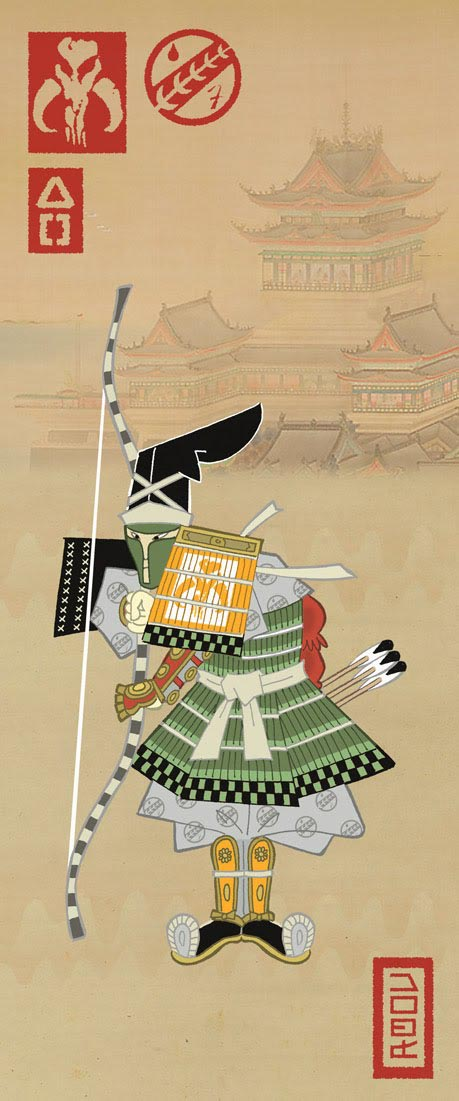 Samurai Star Wars In Edo Ukiyoe Gadgetsin