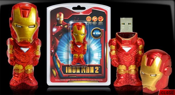 Yet Another Iron Man 2 USB Flash Drive Gadgetsin