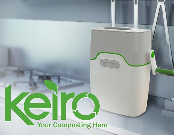 Quirky Keiro Compact Food Grinder Gadgetsin