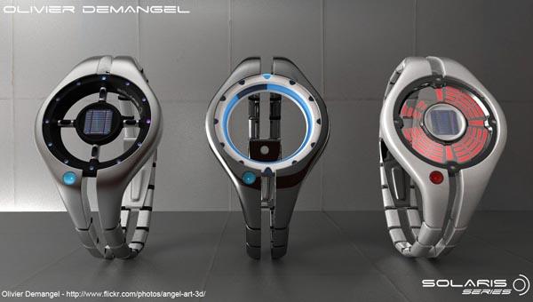 Solaris Solar Watch Design Concept Gadgetsin