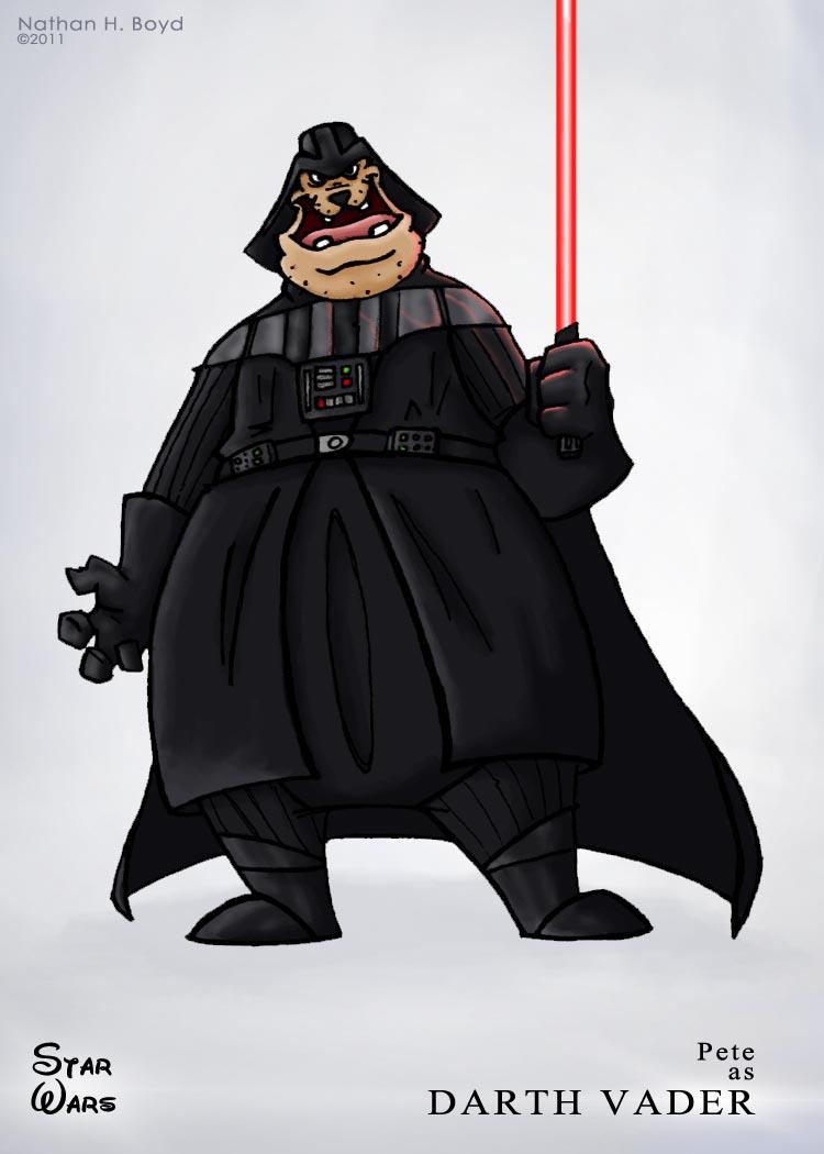 Star Wars Mushups Combined With Disney Cartoon Characters
