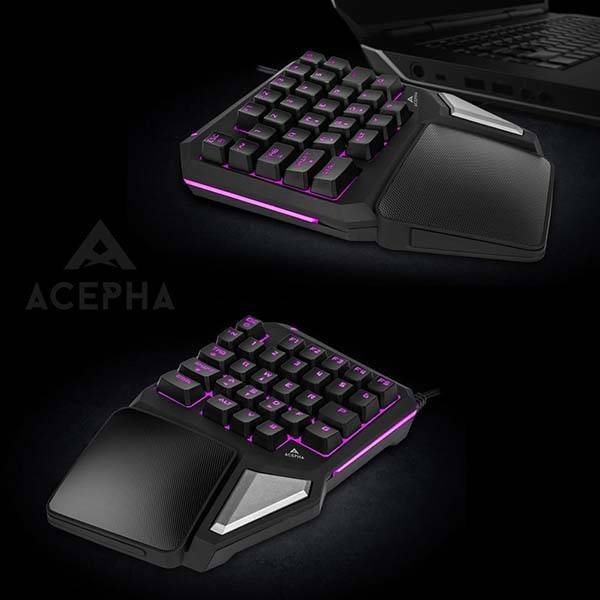 Acepha T9 Pro Programmable Gaming Keypad Gadgetsin
