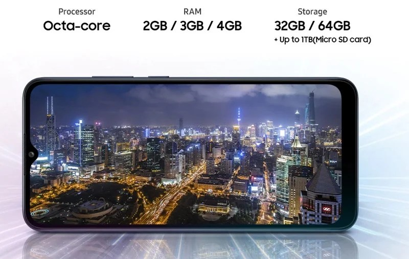 Powerful processor and ample storage