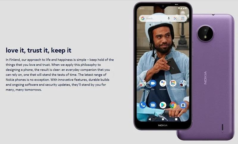 Nokia C10 software updates