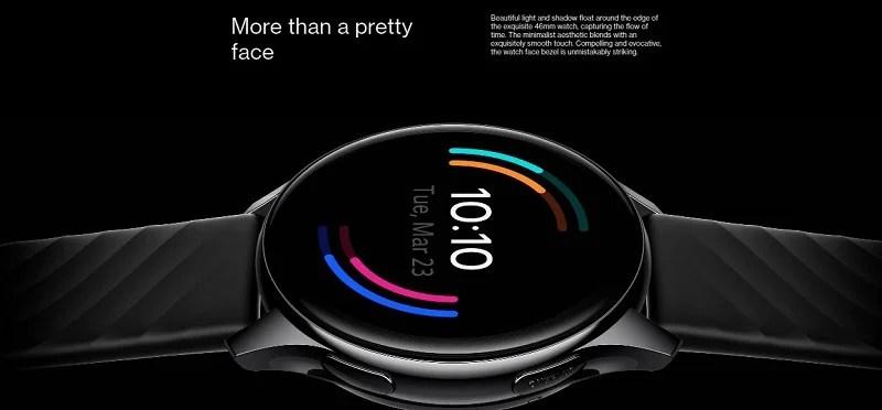 OnePlus Watch Pretty Face