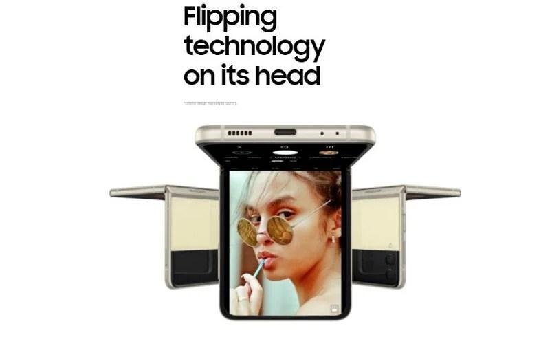 Samsung Galaxy Z Flip 3 Flipping Technology