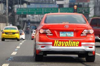 Havoline car in Edsa (1)