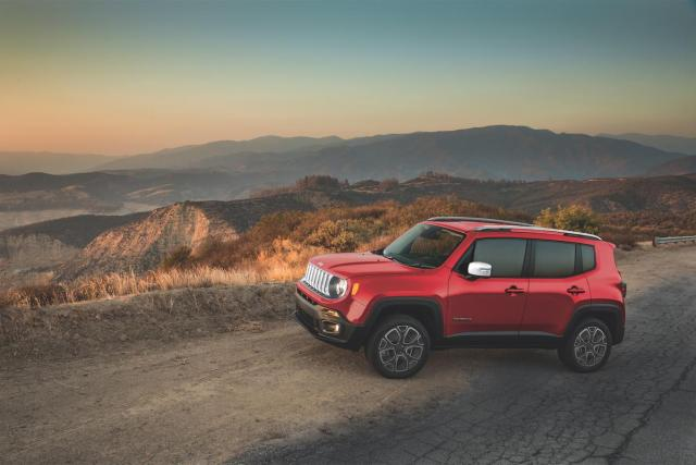 7) Jeep Renegade