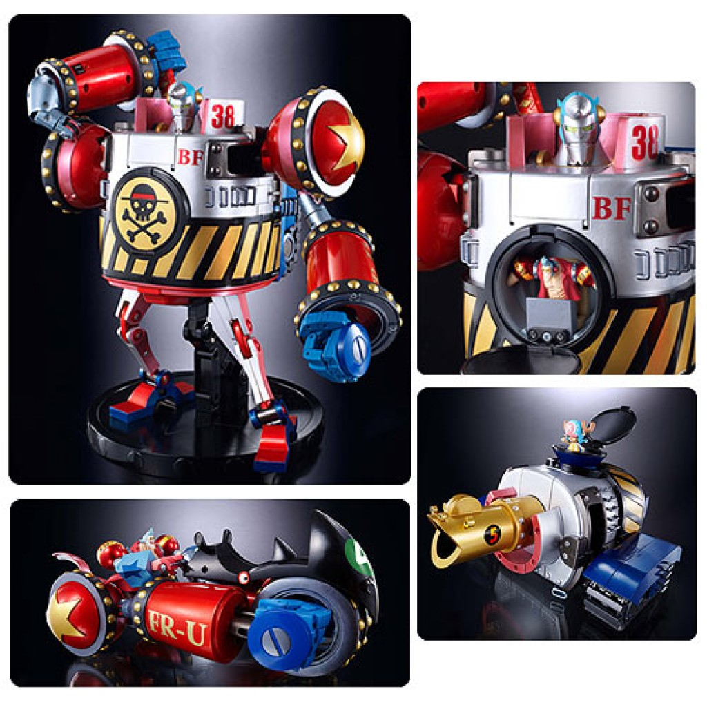 Franky Soul Of Chogokin Transforming Die Cast Action