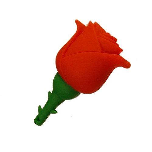 Clé USB Rose rouge