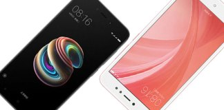 Xiaomi Redmi 5A vs Xiaomi Redmi Note 5A