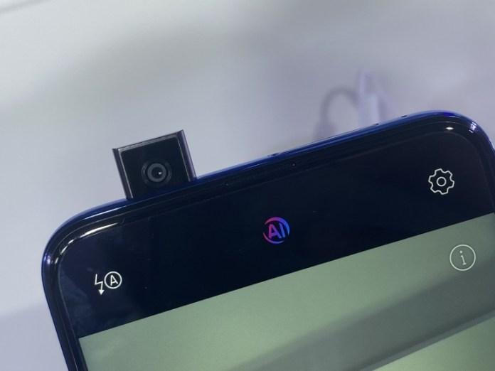 Honor 9x popup selfie camera