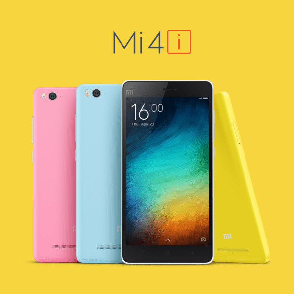 Xiaomi Mi4i and Mi Band Launched in India At 12,999 INR ...